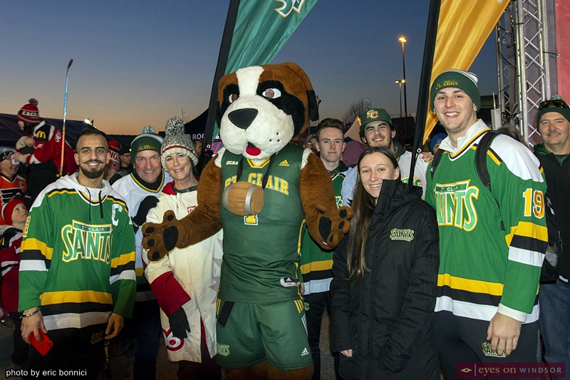 St. Clair College Athletics at Rogers Hometown Hockey