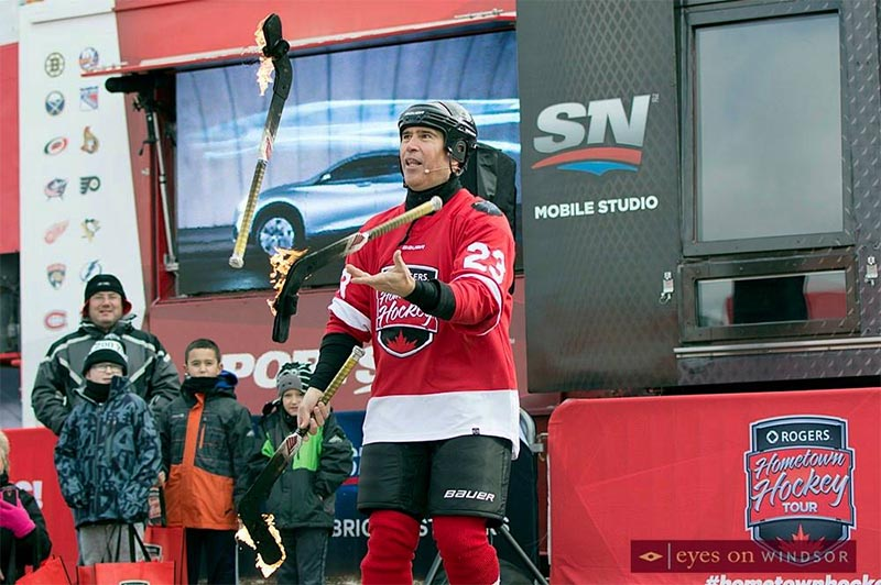Rogers Hometown Hockey Tour: Paz's Hockey Circus Show
