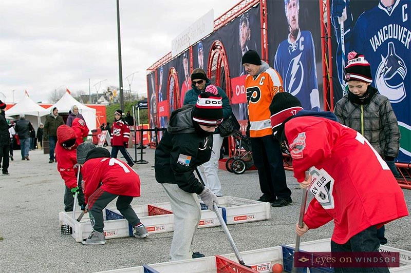 Rogers Hometown Hockey Tour Interactive Games