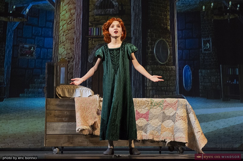 Koen Kavanaugh as Little Fiona in Shrek The Musical by Cardinal Music Productions
