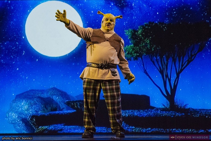 Joe Cardinal as Shrek