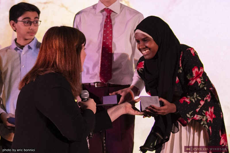 Sumaya Osman Winner of Rotary Club of Windsor 1918 Tell Your Story Writing Contest