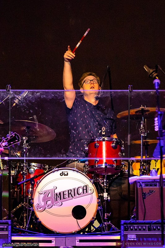 Drummer Ryland Steen, band member with America