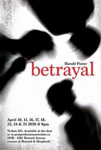 Post Productions Betrayal Poster