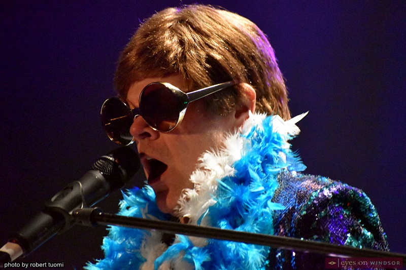 Bruce Tournay as Elton John