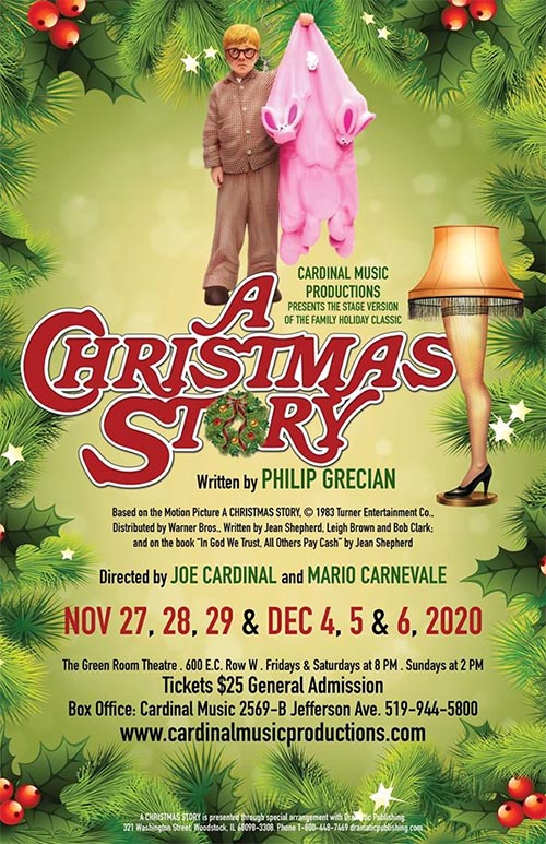Cardinal Music Productions A Christmas Story Poster
