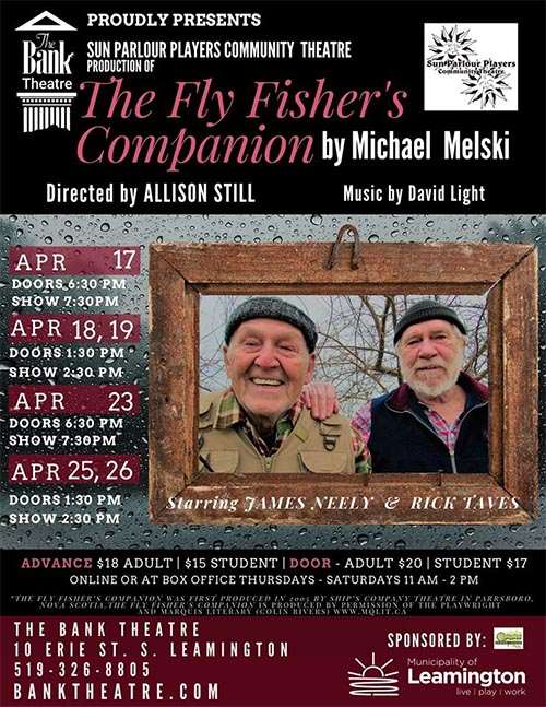 The Fly Fisher's Companion Poster Bank Theatre