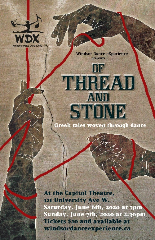 Of Thread and Stone Windsor Dance Experience Poster