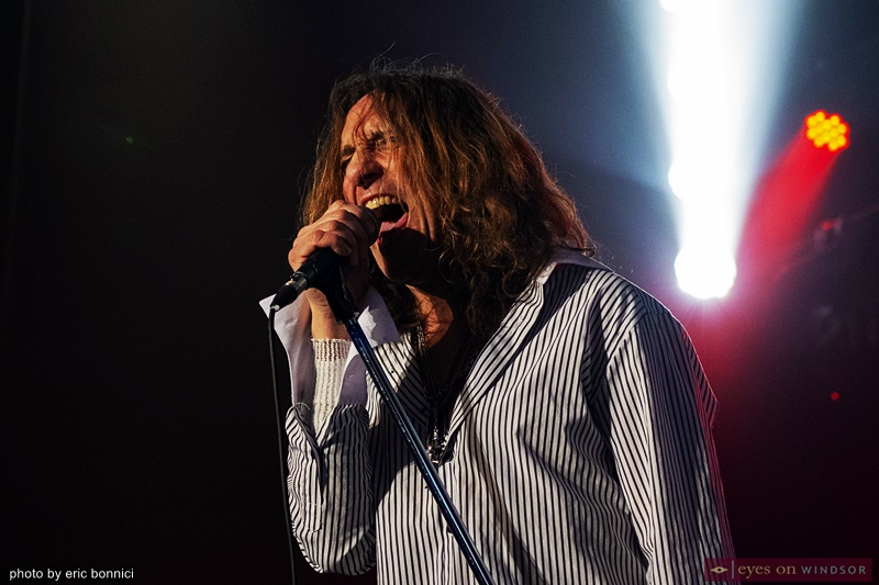 Phil Naro, vocalist Ozone Baby Led Zeppelin Tribute