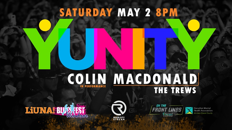 Bluesfest Windsor YUNITY Live Steam Concert Series