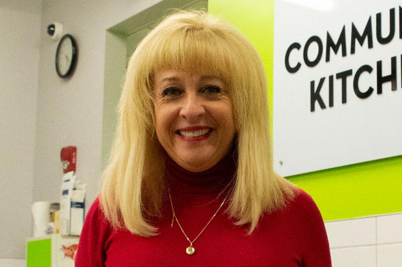 June Muir, President, Windsor Essex Food Bank Association