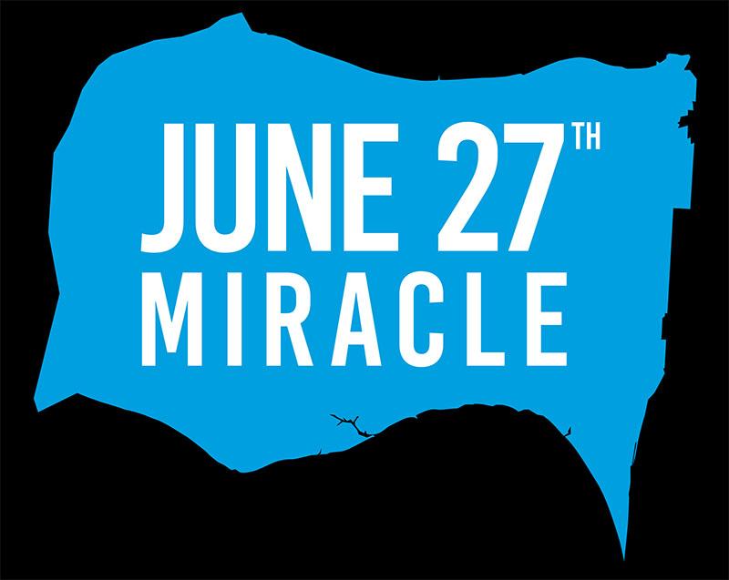 June 27 Miracle Logo