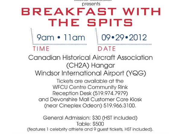 Windsor Spitfires Foundation: First Annual Breakfast With The Spits