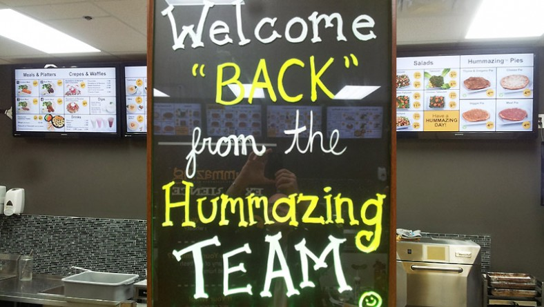 Hummazing Relocates & Re-Opens, Still in Devonshire Mall, Featuring Savoury New Menu