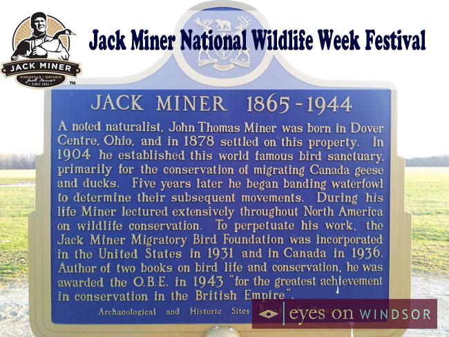 Jack Miner National Wildlife Week Festival
