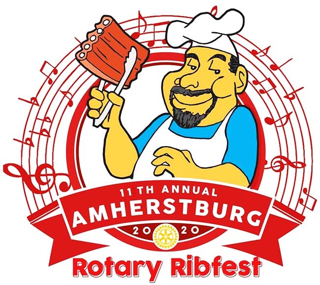 Amherstburg Rotary Ribfest Logo