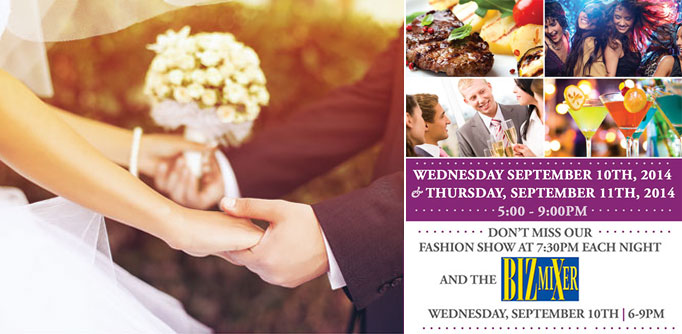 The Wedding Odyssey presents the Fall 2014 Bridal and Event Expo