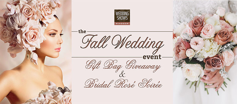Fall Wedding Event Windsor Wedding Shows Poster