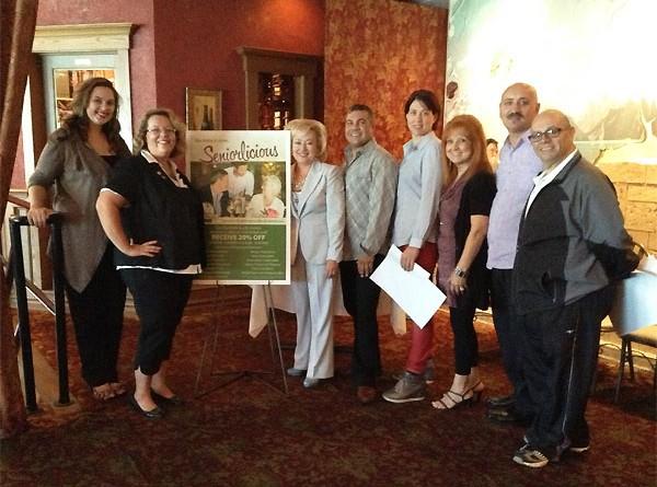 """""""Seniorlicious"""" Dining Deals For Seniors at Via Italia Restaurants in Windsor"""