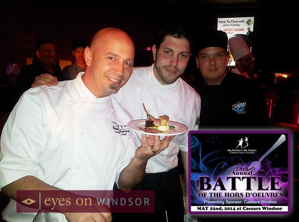 Restaurants Be Part of Windsor's Most Exciting Food Competition, Battle of the Hors D'oeuvres 2014 Apply by Feb 12