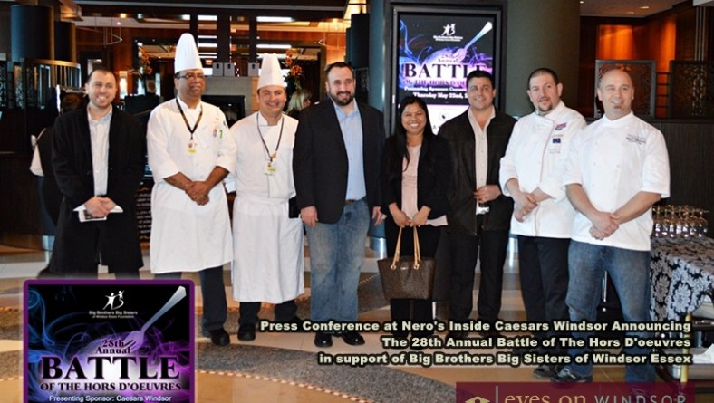 Savour Scrumptious Hors D'oeuvres As 14 of The Best Chefs in Windsor Essex Battle For Your Vote