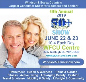 Windsor 50+ Expo and Show Poster