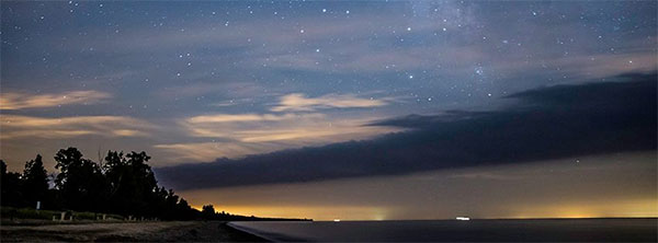 Dark Sky Night at Point Pelee National Park