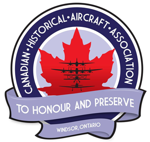 Canadian Historical Aircraft Association of Windsor, Ontario logo.