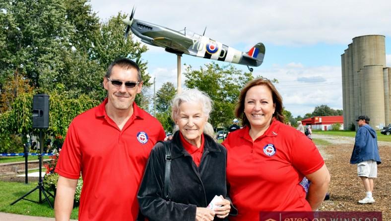 Spirits Soar at Essex Memorial Spitfire Dedication Ceremony | Photo Gallery
