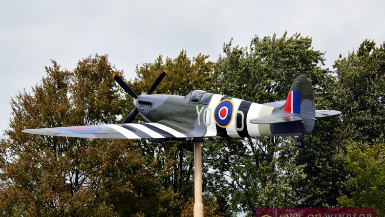 Essex Memorial Spitfire Priscilla A Fierce Tribute To WWII Airmen