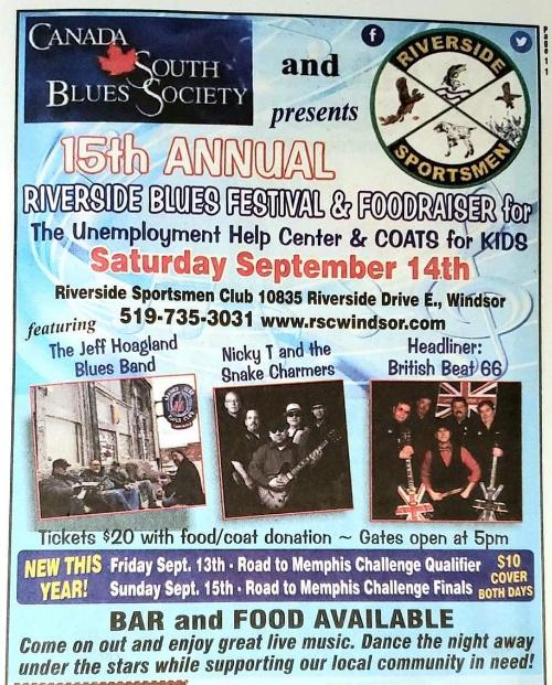 Riverside Bluesfest Poster