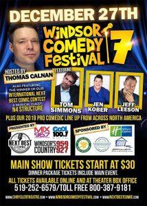 Windsor Comedy Festival Poster
