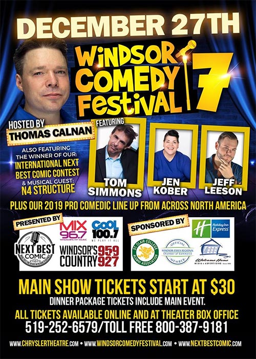 Windsor Comedy Festival Poster