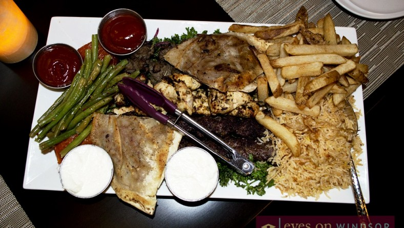 Sarai Restaurant & Lounge Brings Middle Eastern Fusion to Windsor