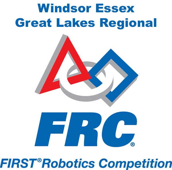 Windsor Essex Great Lakes Regional FIRST Robotics Competition Logo