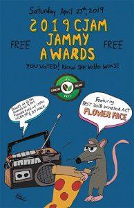 CJAM Jammy Awards Poster