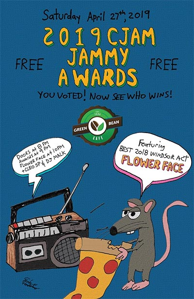 CJAM Jammy Awards Poster