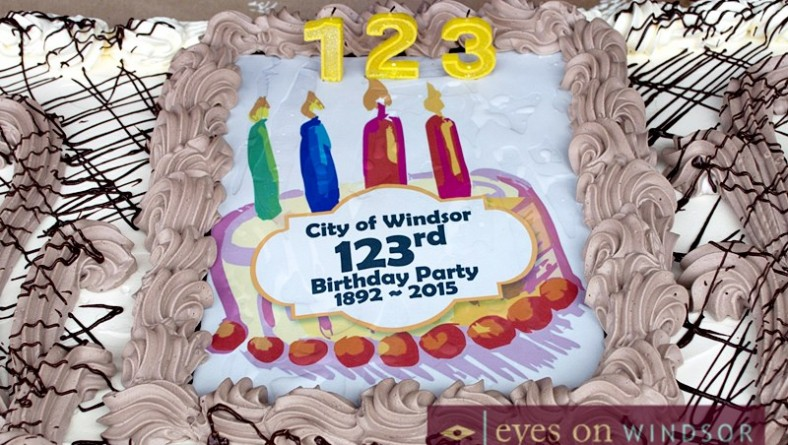 Drew Dilkens' First Mayor's Walk And Birthday Wish For City of Windsor
