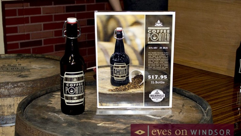 Walkerville Brewery Launches Coffee Porter Barrel-Aged Beer