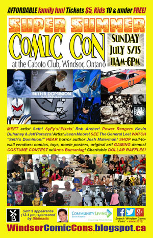 Windsor Summer Comic Con 2 Poster