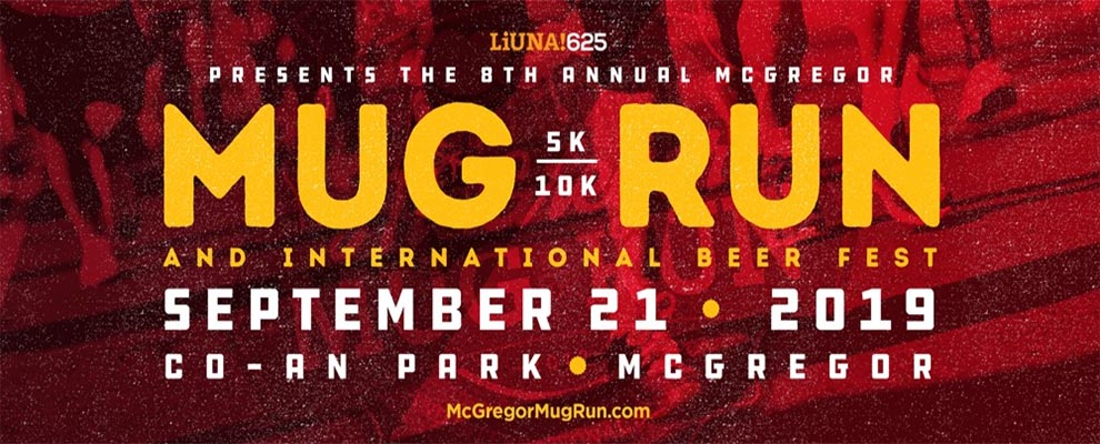McGregor Mug Run and International Beer Festival