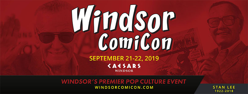 Windsor Comicon Banner