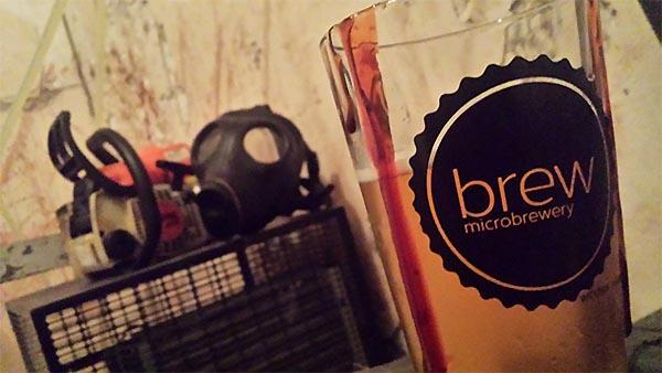Brew Basement Butchering Halloween Haunted House