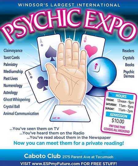 Windsor International Psychic Expo Poster