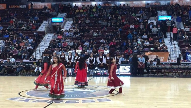 2nd Annual Multicultural Night Celebrated at Windsor Express Game