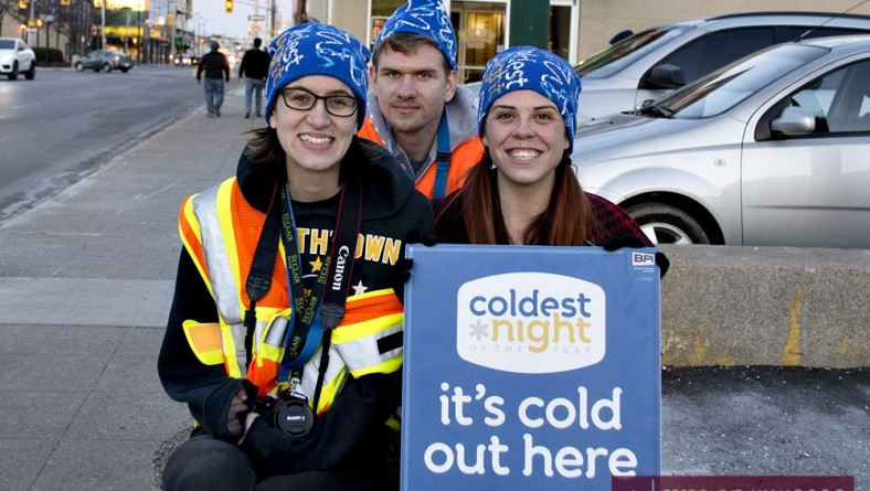 In Photos: The Coldest Night of The Year Walk Supporting The Downtown Mission