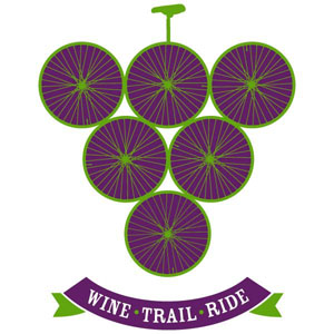 Wine Trail Ride Cycling Tour Logo