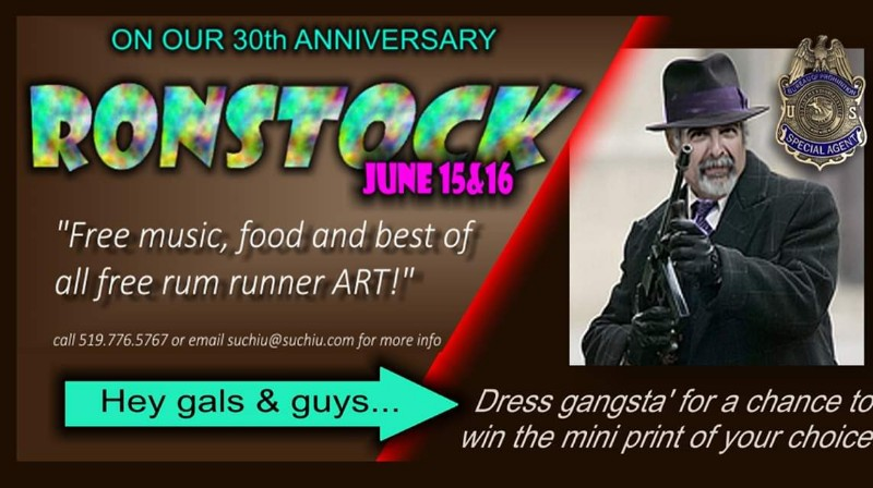 Ronstock Poster