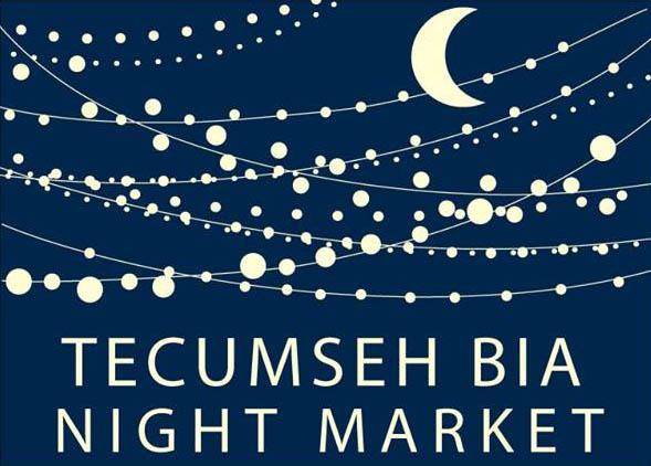 Tecumseh BIA Night Market Logo