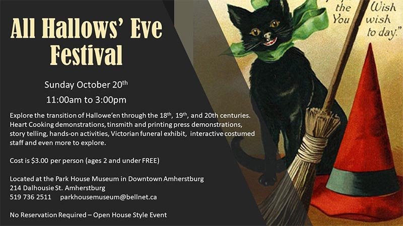All Hallows Eve Festival Poster